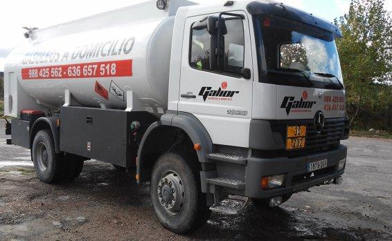Camión Combustibles Galior